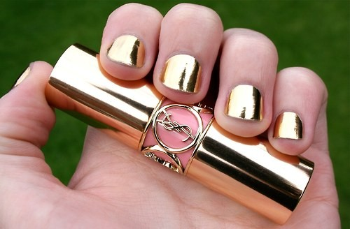 Gold Chrome Nail Polish Gold Nail Polish