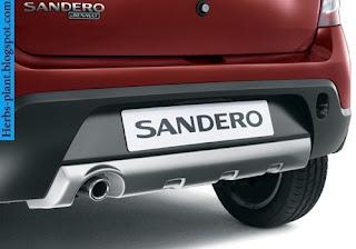 Renault sandero car 2013 exhaust - صور شكمان سيارة رينو سانديرو 2013