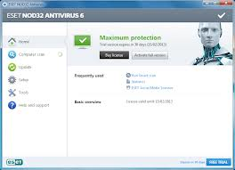 : ESET NOD32 Antivirus & Smart Security 6.0.316.0 Final Full Serial