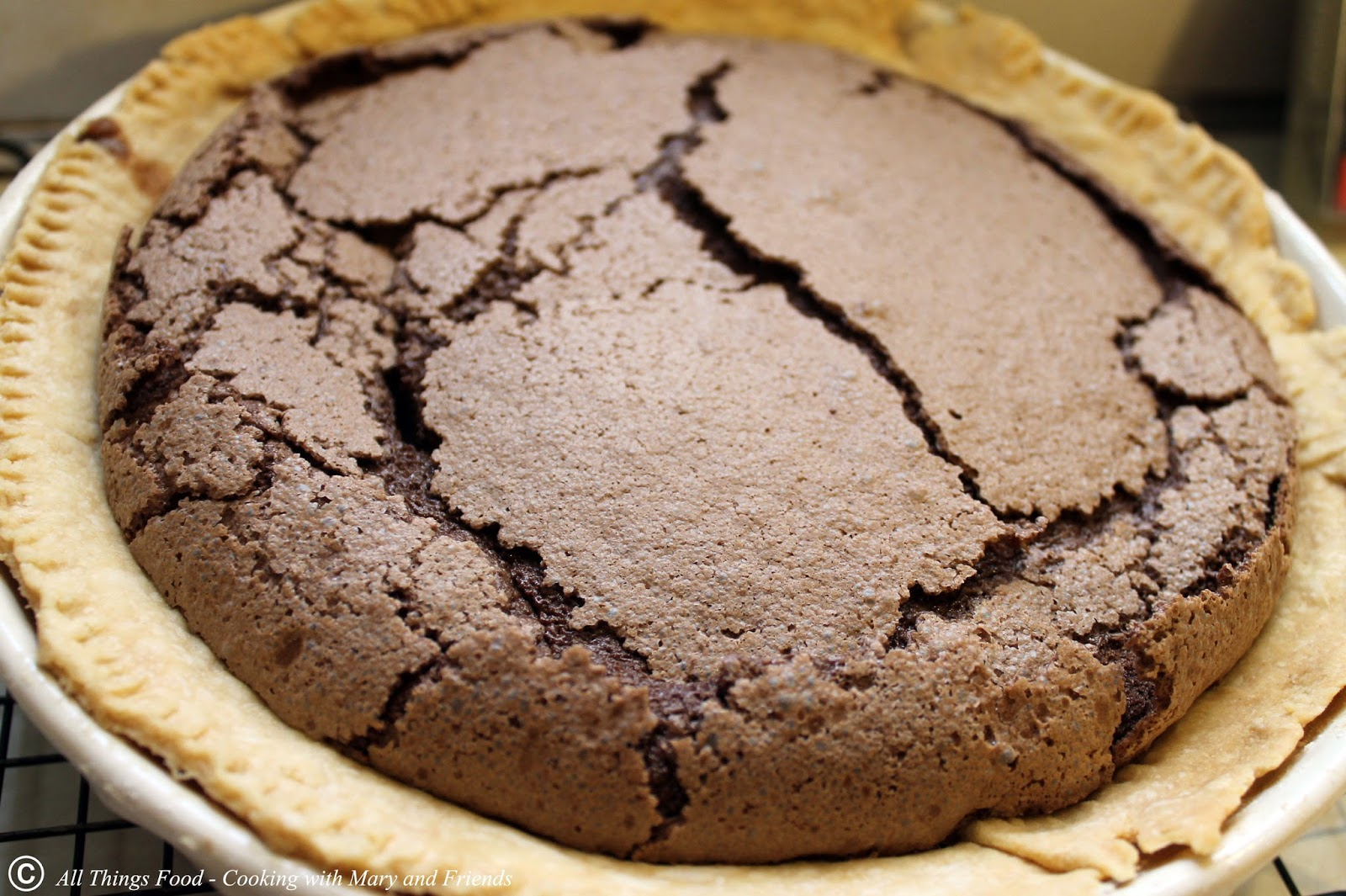 Cooking With Mary and Friends: Chocolate Chess Pie