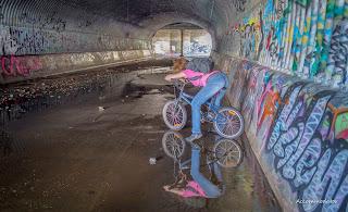 Urbex Drain Bike