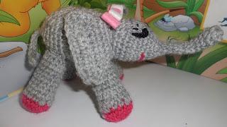 Elefante de crochet
