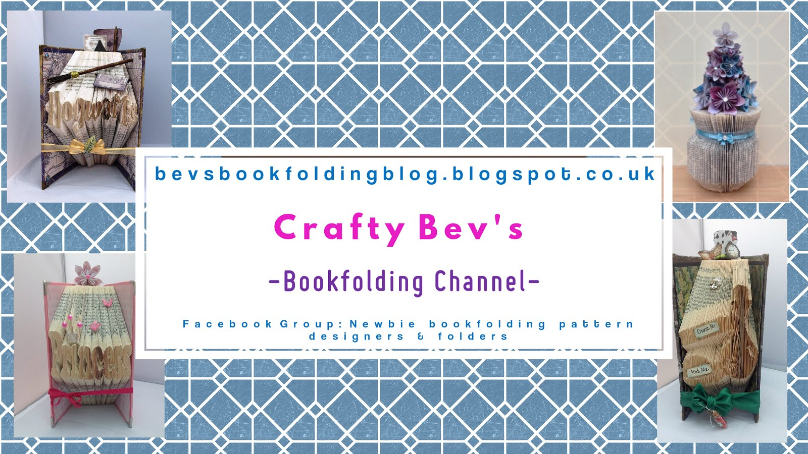 Crafty Bev's Bookfolding Channel