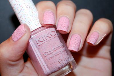 """Swatch of """"651 - Strawberry"""" by Kiko"""