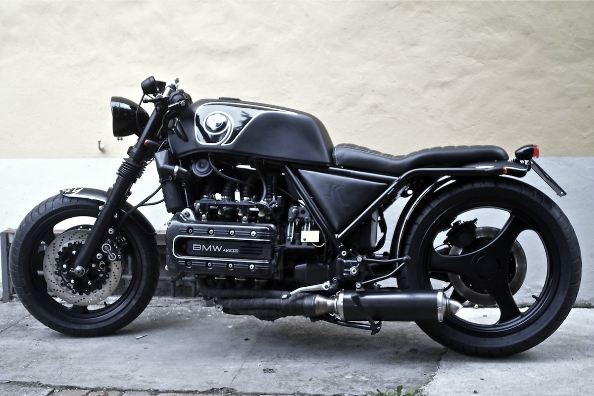 k100 bobber by chemical garage inazuma caf racer. Black Bedroom Furniture Sets. Home Design Ideas