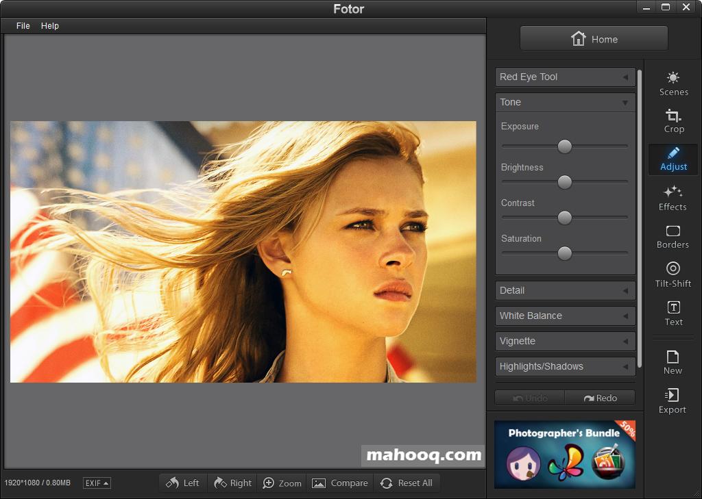 免費修圖軟體推薦:Fotor Portable 免安裝下載