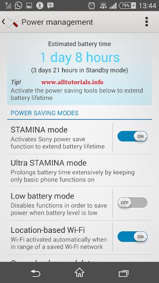 tips cara menghemat baterai di android