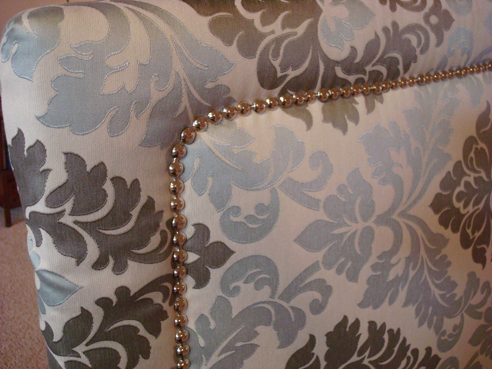Dishing Up Design: DIY Upholstered Headboard with Nailhead Trim