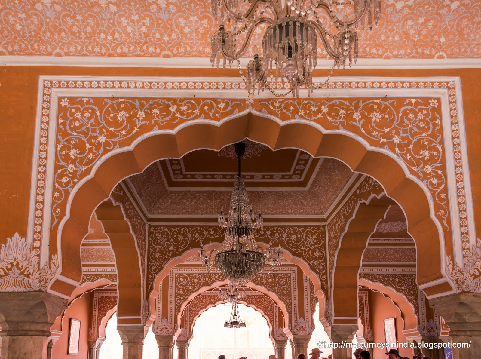 Diwan-i-khas at City Palace Jaipur