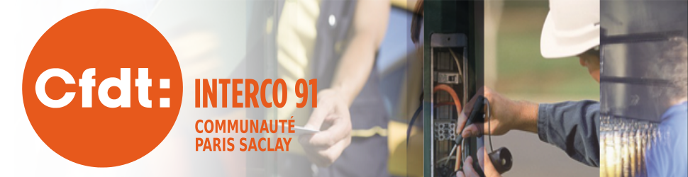 CFDT INTERCO91 Communauté Paris Saclay