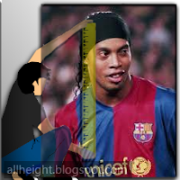 Ronaldinho Height - How Tall