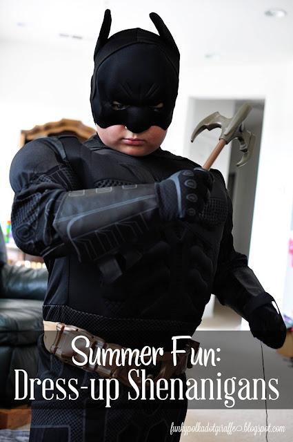 kids batman dress up