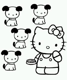 Dibujos de Hello Kitty para Pintar, parte 5