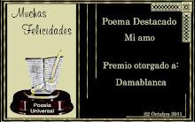 Poema destacado en poesía universal