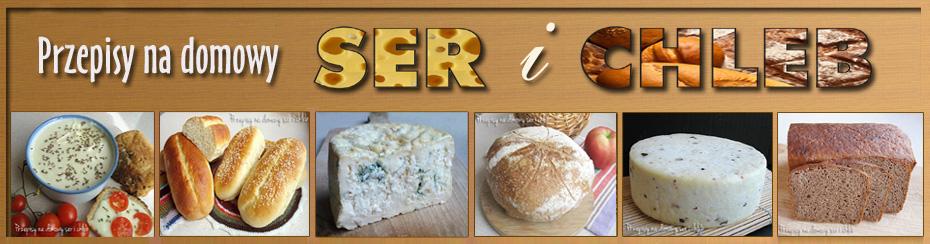 Przepisy na domowy ser i chleb