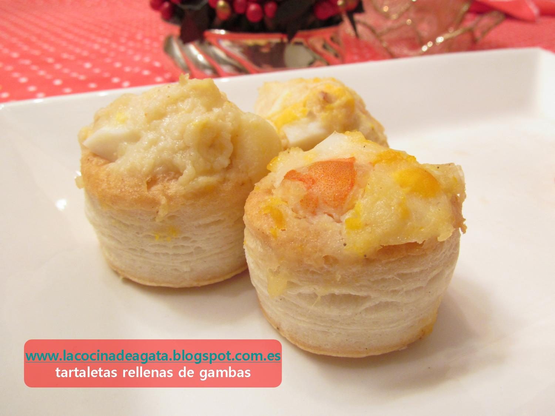Tartaletas Rellenas De Gambas