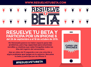 resuelve tu beta concurso premio ganador iphone6
