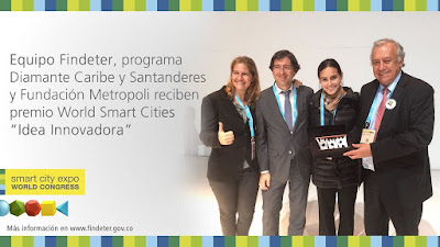 Smart City Award Fundación Metropoli Microsoft