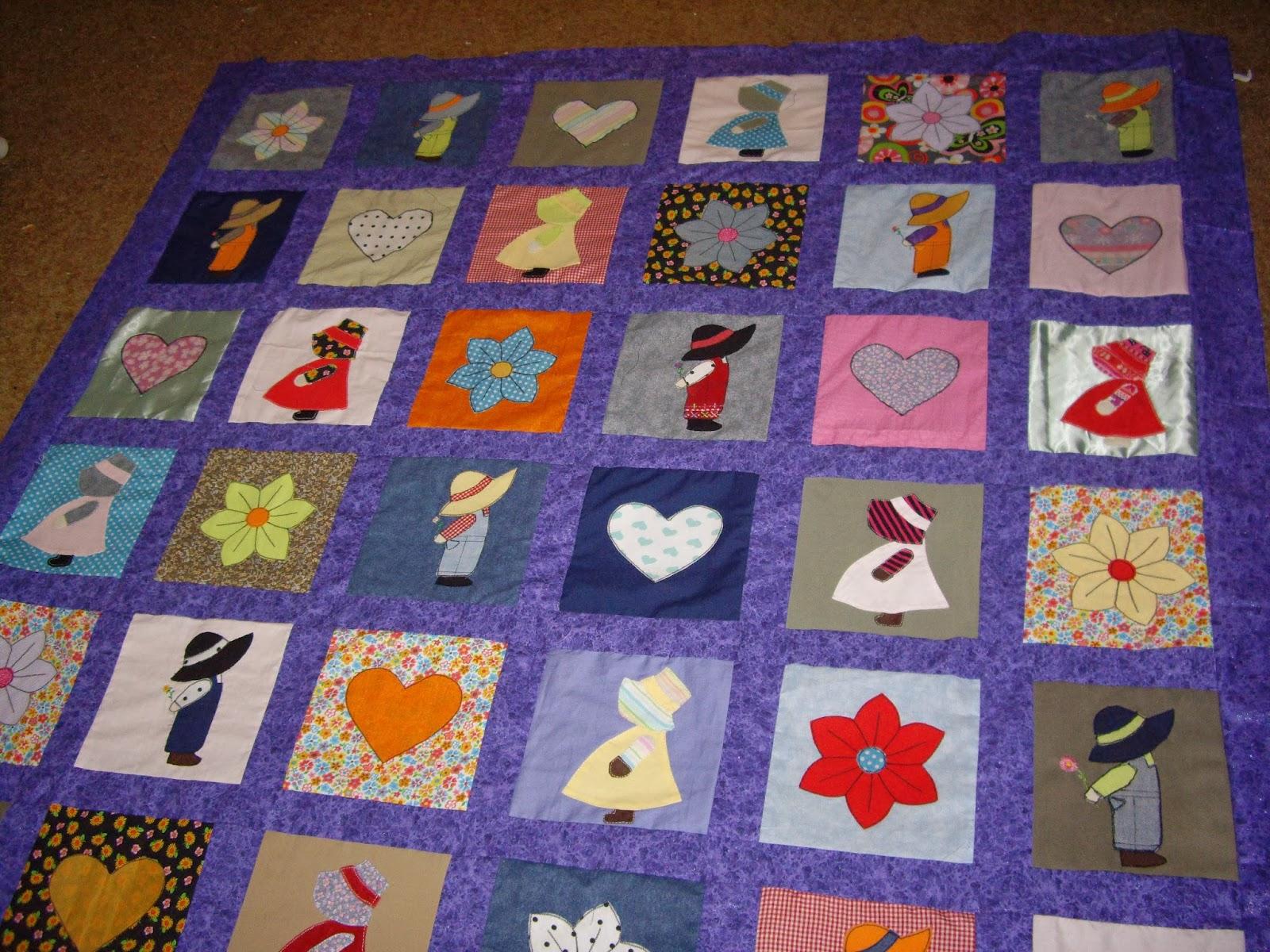 Creaciones grislua acolchado hecho con ropa reciclada en patchwork - Acolchados en patchwork ...