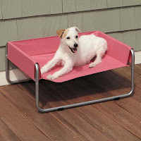 Pet Cot is ideal for outdoor use and effectively keeps biting insects away from pets.