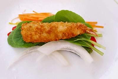 Vietnamese food - Gỏi Cuốn Tôm Chiên Xù