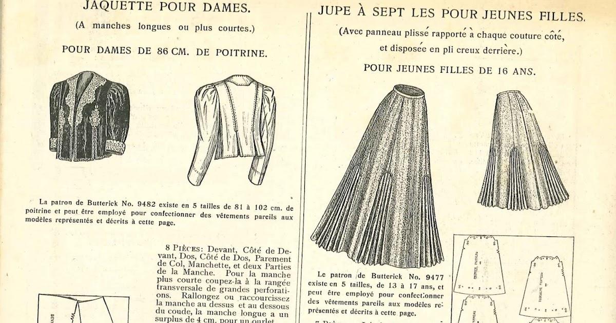 Des modes patron jupe et veste le miroir des for Miroir des modes value