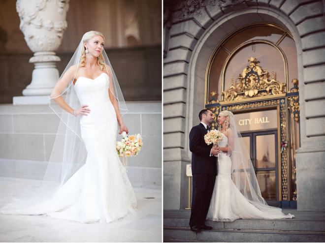 Lavish, San Francisco City Hall Nuptials - Belle The Magazine