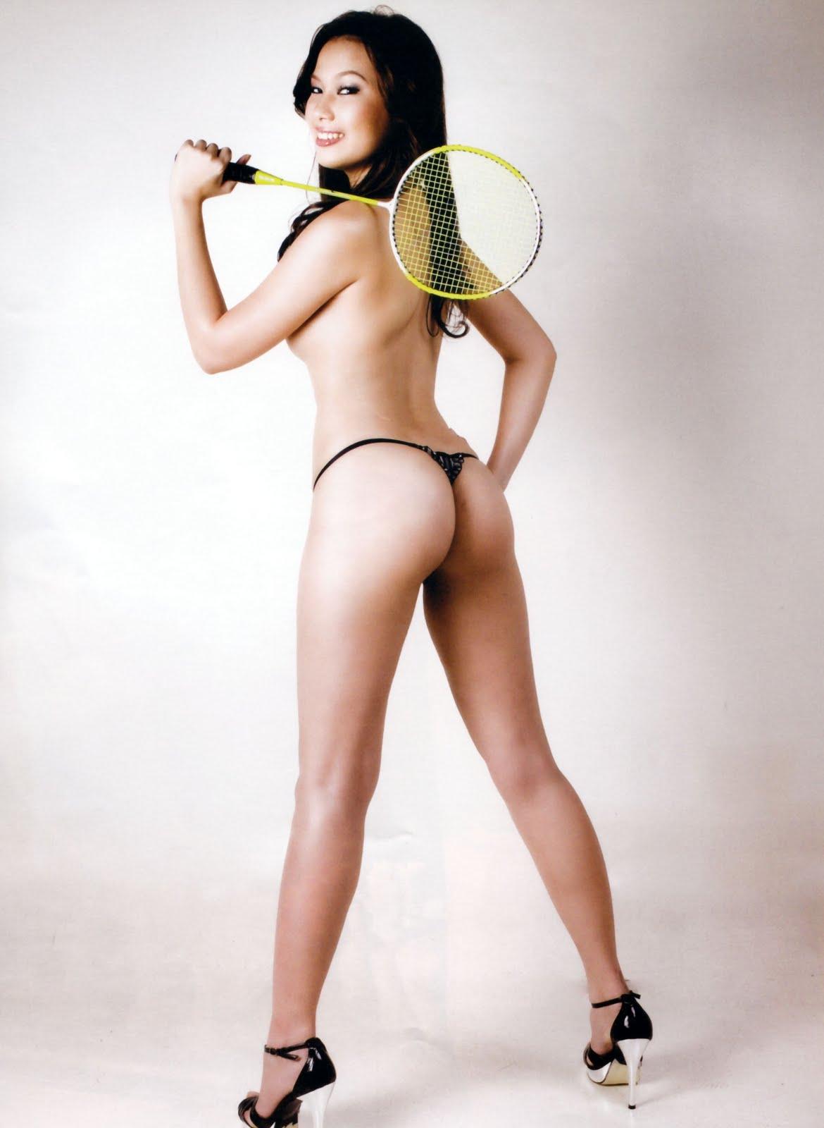 Bernice liu en bikini