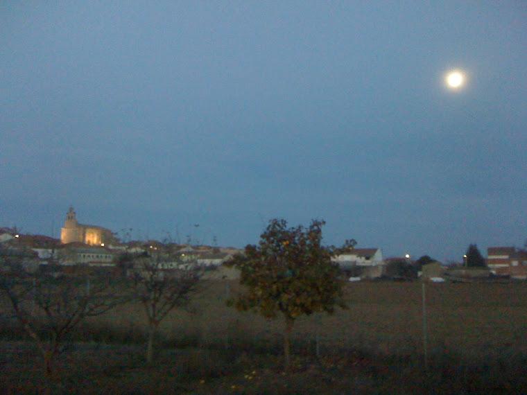 Villalba de Duero al atardecer