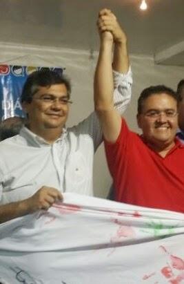 Roberto Rocha e Flávio Dino