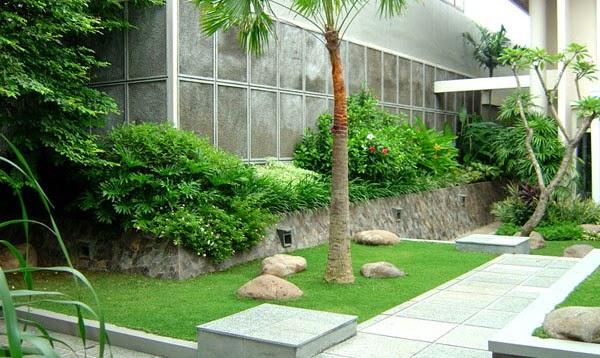 Inspirasi Ide Taman Rumah Tropis?