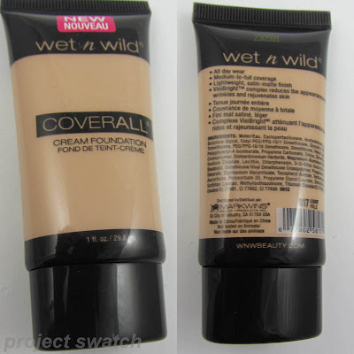 Wet n Wild Cover All Cream Foundation - 817 Light
