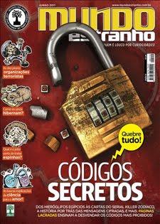 Download Revista Mundo Estranho Códigos Secretos Junho 2011 Edição 112