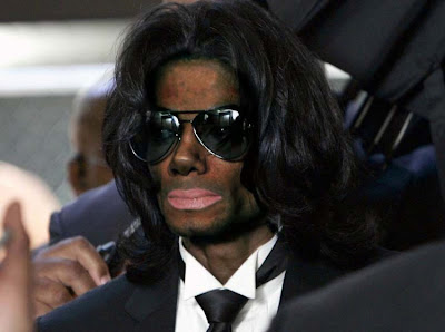 black color Michael Jackson
