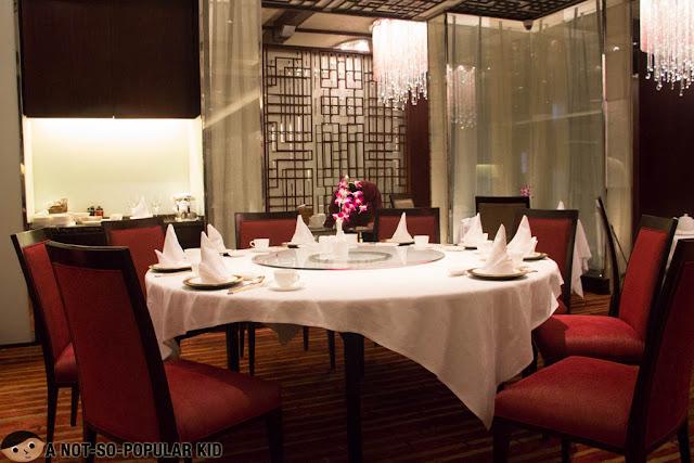 Shang Palace Interior - Makati Shangri-La Hotel