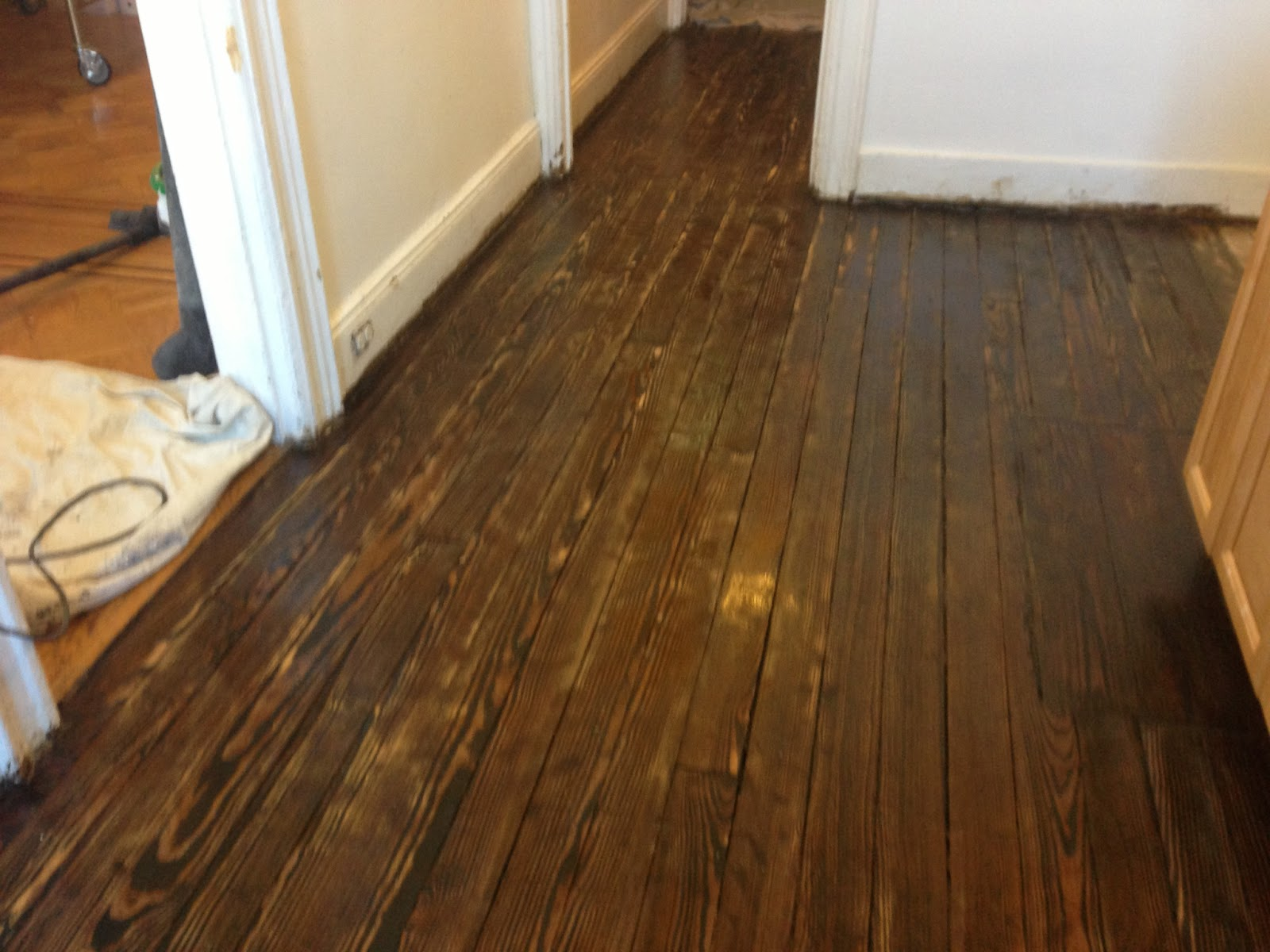 Minwax dark walnut floor photos home design idea for Hardwood floors queens ny