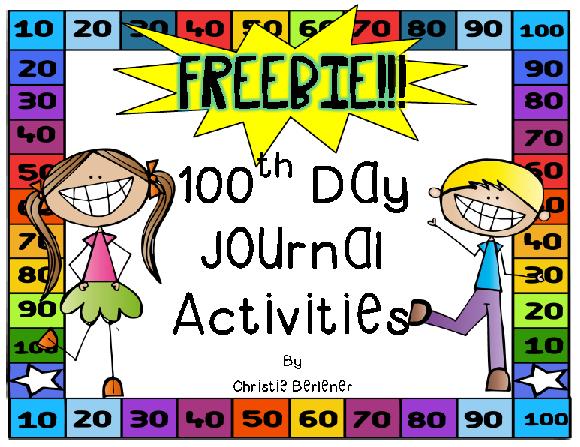 https://www.teacherspayteachers.com/Product/My-100th-Day-Journal-1680483