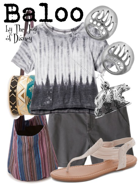 Baloo, The Jungle Book, Disney Fashion