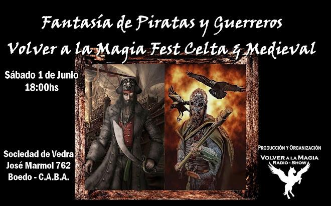 Evento FANTASIA DE PIRATAS Y GUERREROS CELTA MEDIEVAL
