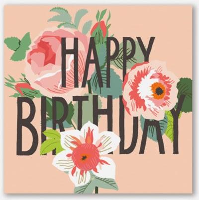 Tsuruta Designs Happy Birthday Tonya