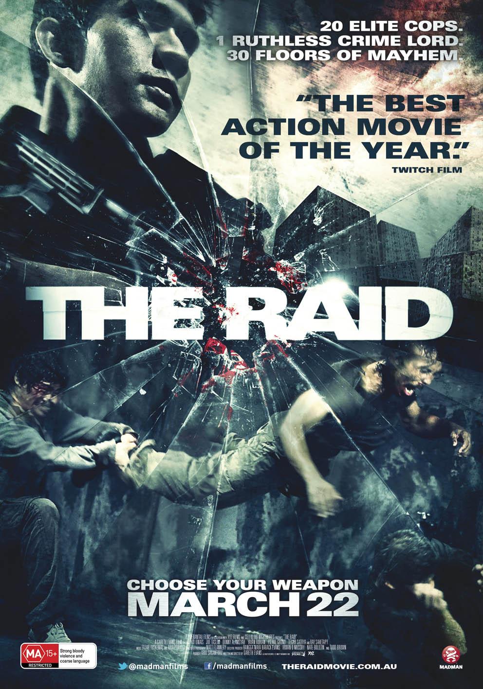 რეიდი The Raid: Redemption