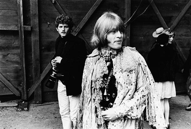 Brian Jones (Rolling Stones) - Monterey, 1967