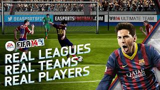 لعبة fifa 2014 فيفا لهواتف الاندرويد والايفون للتحميل