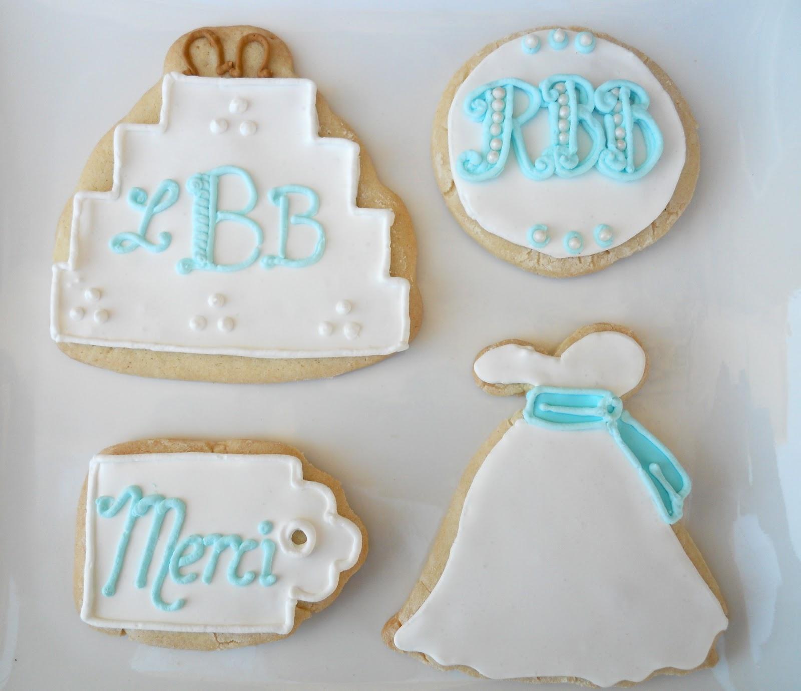 Oh Sugar Events: Nautical Wedding Cookies