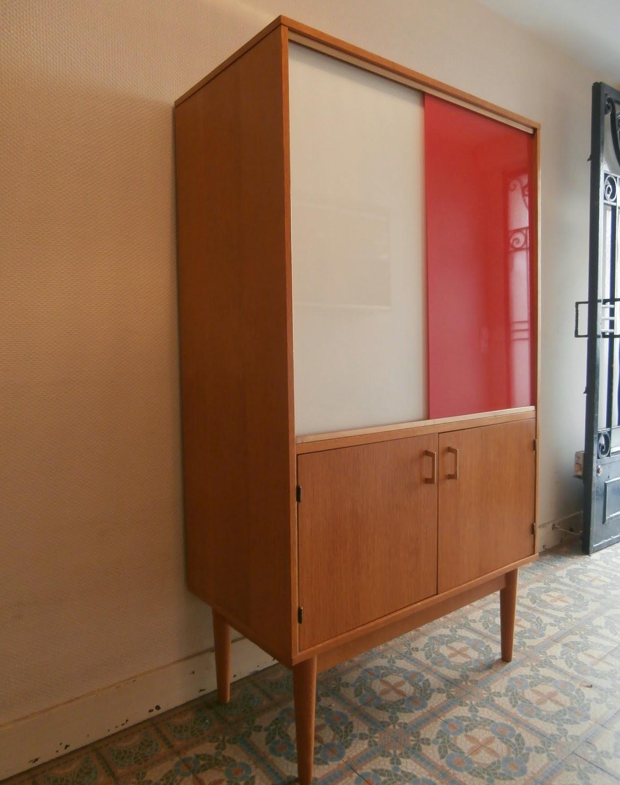 Dur e de vie ind termin e biblioth que vitrine bicolore - Duree de vie d un frigo ...