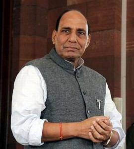 Rajnath Singh is elected as the president of BJP the second time