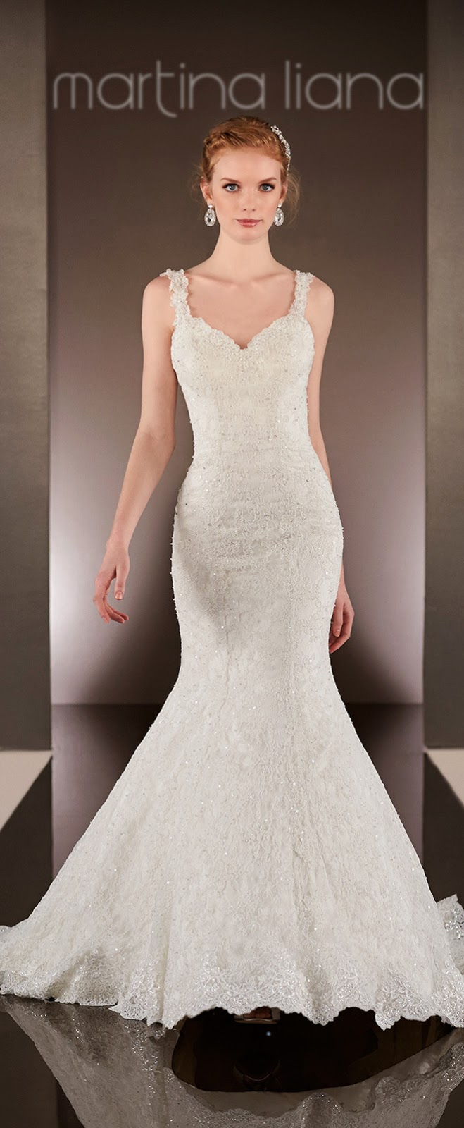 Wedding dress designer martina liana spring 2015 orlando the heirloom detailing of these array of wedding dresses will leave every guest in awe and stir the heart of a husband to be enjoy ombrellifo Images