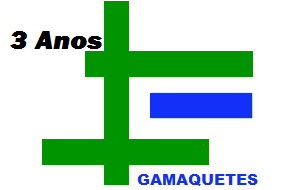 GAMAQUETES 3 ANOS