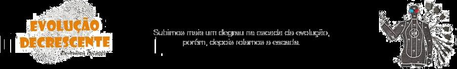 Evolução Decrescente - Textos