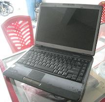 jual laptop bekas toshiba satellite m305